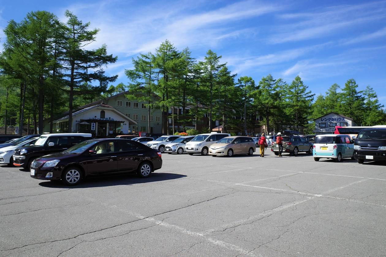 湯ノ丸山駐車場
