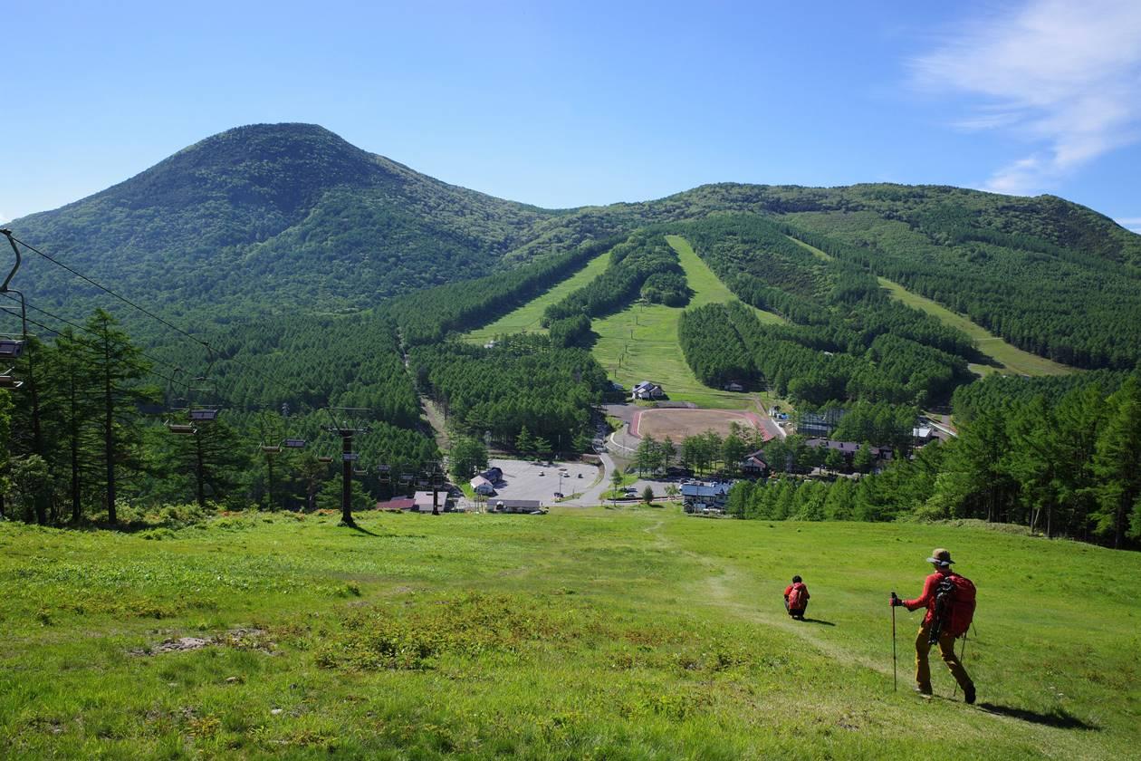 湯ノ丸山 湯ノ丸スキー場