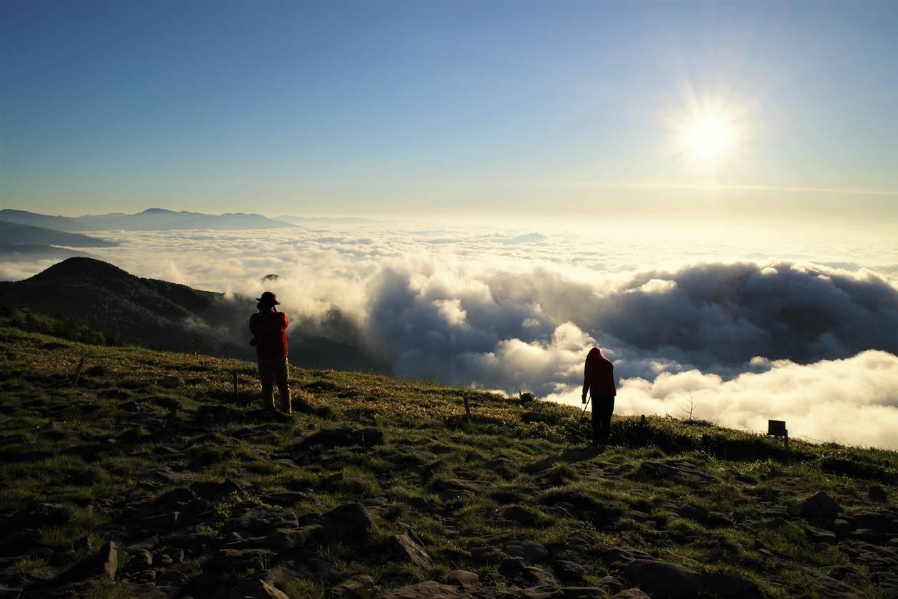 湯ノ丸山 雲海登山