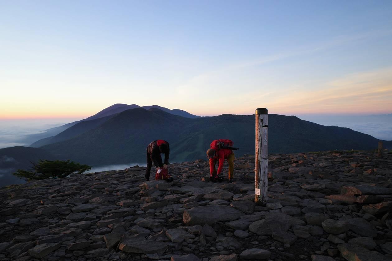 湯ノ丸山山頂