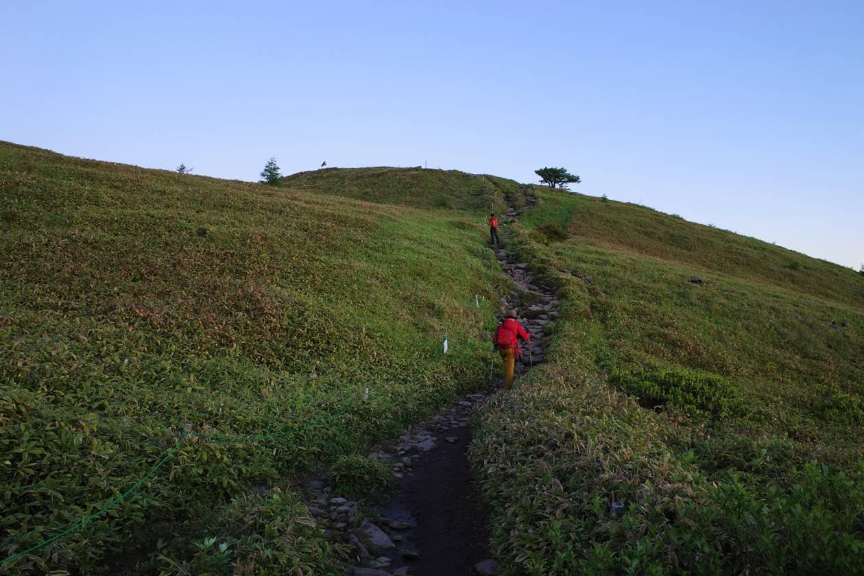 6月の湯ノ丸山登山