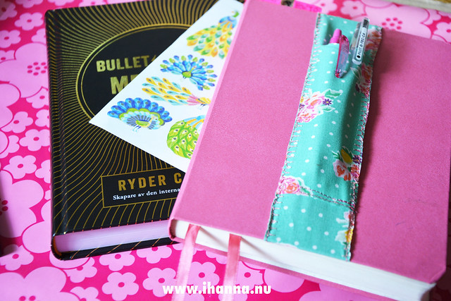 The book and my pink bujo ready to rock and roll