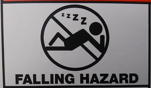Falling (Asleep) Hazard