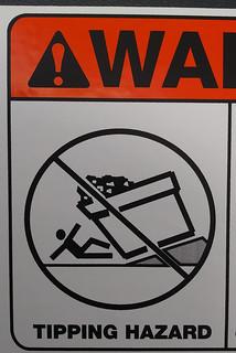 Tipping Hazard