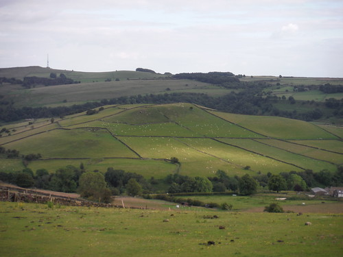 Abney Low and Sir William Hill, from Abney Moor SWC Walk 343 - Hope to Hathersage or Bamford (via Castleton)