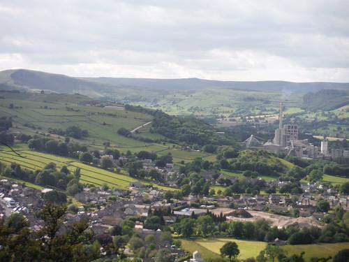 Upper Hope Valley, from Bradwell Edge SWC Walk 343 - Hope to Hathersage or Bamford (via Castleton)