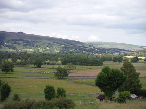 View down Hope Valley, from Pindale Road SWC Walk 343 - Hope to Hathersage or Bamford (via Castleton)