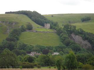 Peveril Castle, Cave Dale & Peak Cavern SWC Walk 343 - Hope to Hathersage or Bamford (via Castleton)