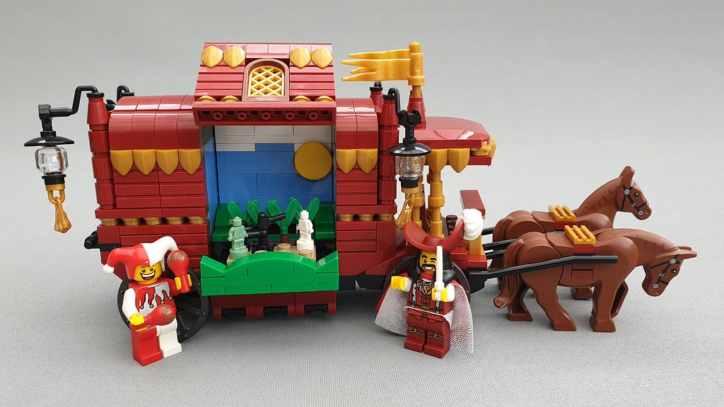 Morty's Traveling Puppetry (custom built Lego model)