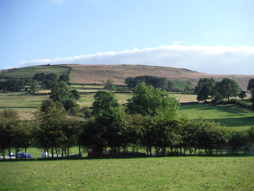 Offerton Edge and Moor, from River Derwent SWC Walk 343 - Hope to Hathersage or Bamford (via Castleton)
