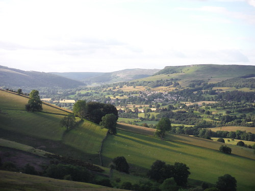 View from Offerton Moor: Bamford and its Edge SWC Walk 343 - Hope to Hathersage or Bamford (via Castleton)