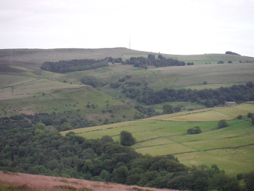 Bretton Clough, from Abney Moor SWC Walk 343 - Hope to Hathersage or Bamford (via Castleton)