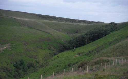 Over Dale (top of) SWC Walk 343 - Hope to Hathersage or Bamford (via Castleton)