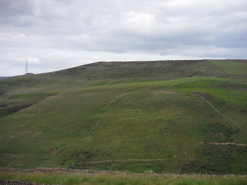 Shatton Edge and Moor, from near Rebellion Knoll SWC Walk 343 - Hope to Hathersage or Bamford (via Castleton)