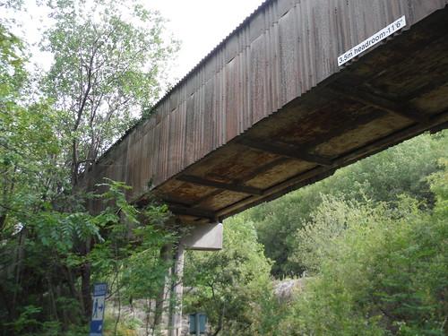 Limestone Conveyor, Hope Cement Works SWC Walk 343 - Hope to Hathersage or Bamford (via Castleton)
