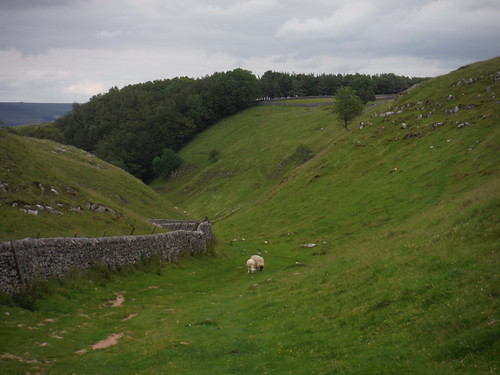 Top of Cave Dale SWC Walk 343 - Hope to Hathersage or Bamford (via Castleton)