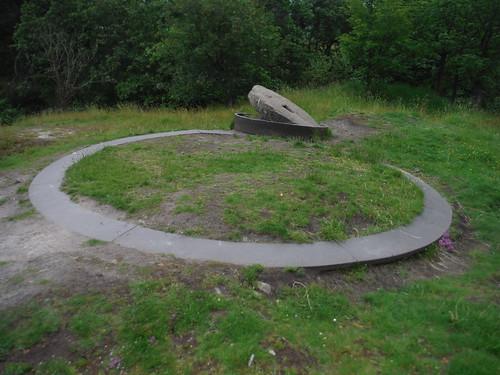 Odin Mine Crushing Circle SWC Walk 343 - Hope to Hathersage or Bamford (via Castleton)