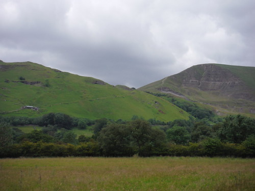 Treak Cliff and Treak Cliff Cavern, Mam Tor SWC Walk 343 - Hope to Hathersage or Bamford (via Castleton)