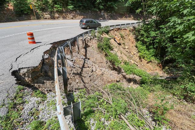 Highway 30 collapse, Van Buren County, Tennessee 2