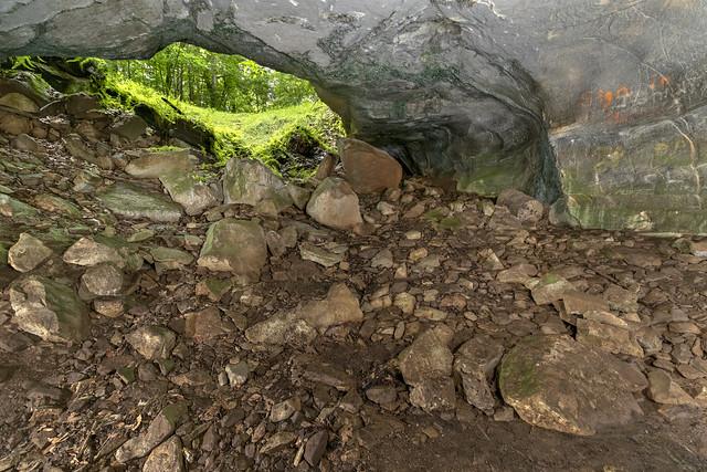 Big Bone Cave twilight, Big Bone SNA, Van Buren County, Tennessee 2