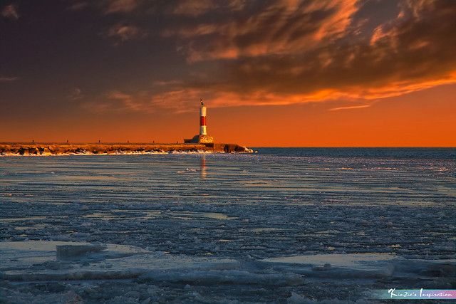 Lighthouse in Winter *A Beautiful Nature*