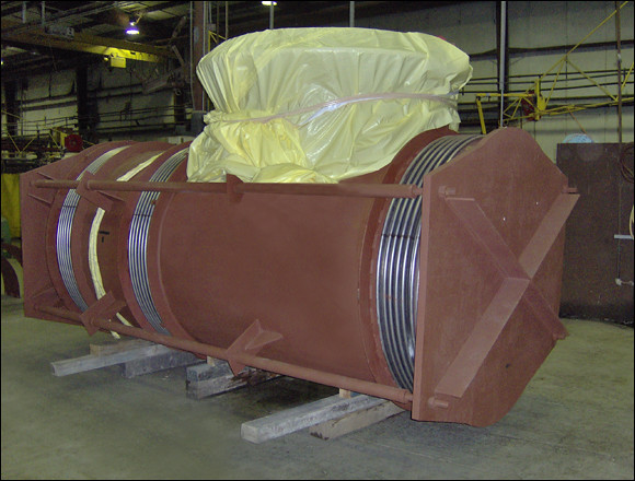 Pressure Balanced Expansion Joint for a Nuclear Facility