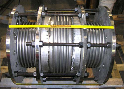 U.S. Bellows, Inc. Designed and Fabricated Inline Pressure Balanced Expansion Joints 3/7/07