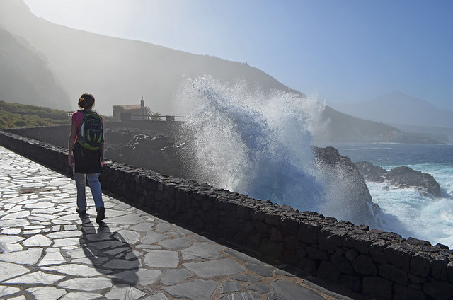 Coastal walking, Tenerife, Canary Islands
