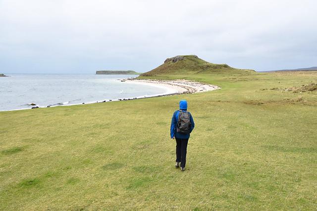 Walking to Coral Beach, Skye