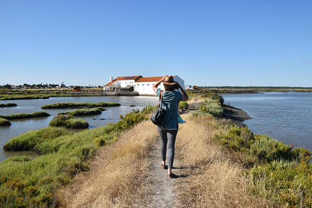 Walking at the Sado Estuary, Setubal, Portugal