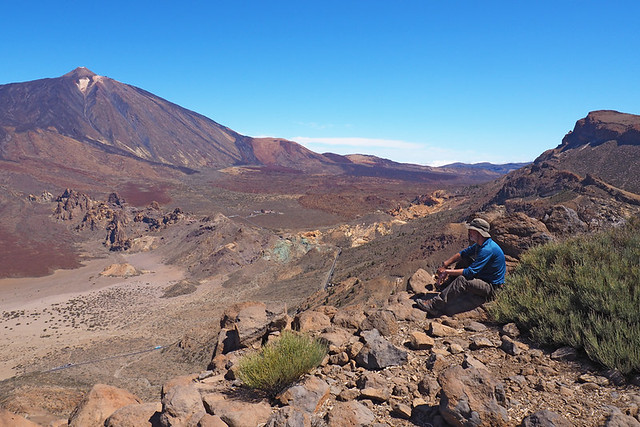 Crater wall, Teide National Park, Tenerife