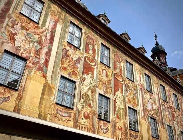 Lively facade, Bamberg