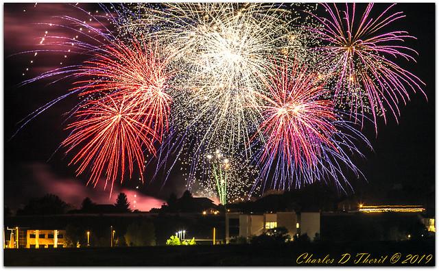 Kissing Camels Fireworks