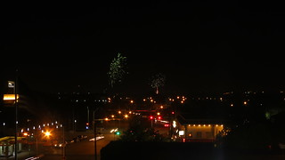 Fireworks over Fair Park Dallas 4 th of July