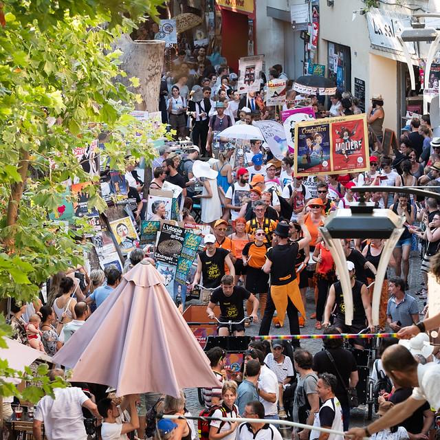 Grande parade d'ouverture du festival OFF d'Avignon 2019