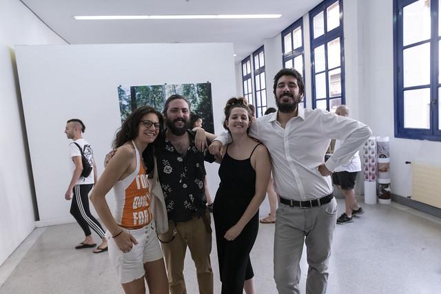 «Puertas Entreabiertas» Jornada de Open Studios de los artistas residentes en BilbaoArte durante el primer semestre de 2019