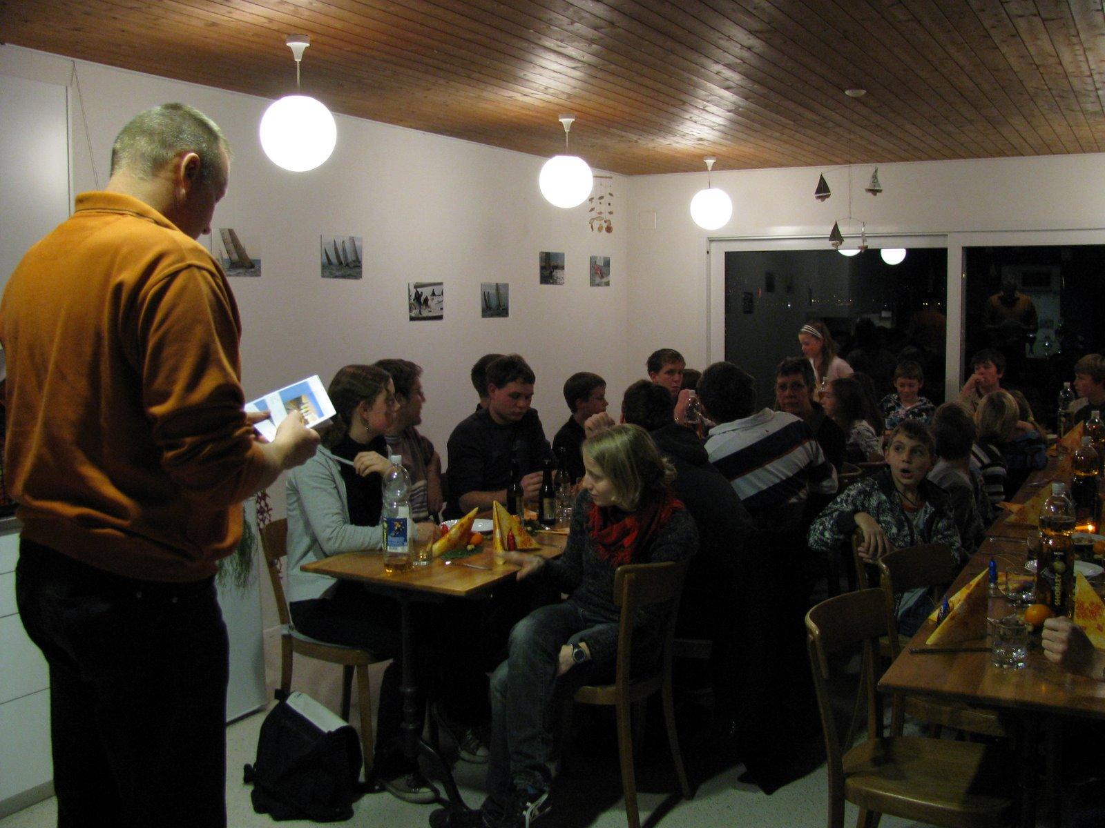 YCA Junioren-Chlausabend 03.12.2008