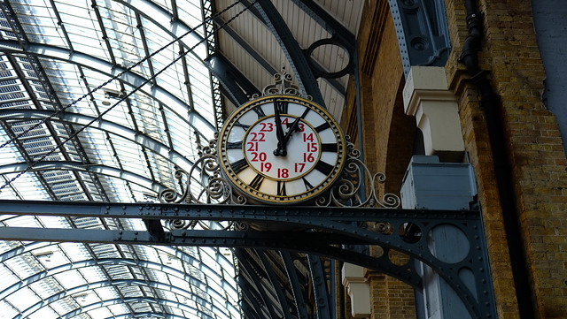 Clocks at King's Cross