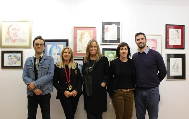 """Inauguración expo """"Los olvidados"""" en Sala Cable al Arte"""