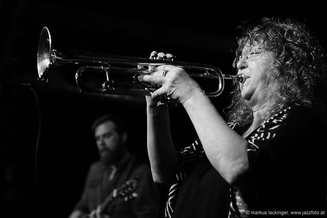 Pamela Fleming: trumpet, fluegelhorn