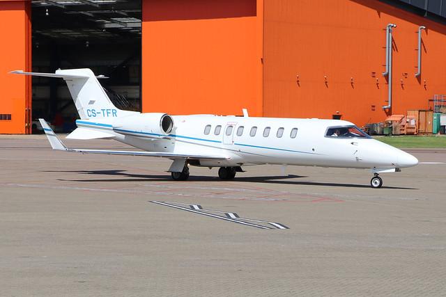 CS-TFR  -  Learjet 45  -  Omni Avia  -  LTN/EGGW 5/7/19