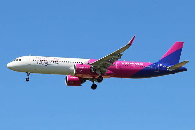 HA-LVC  -  Airbus A321-271NX  -  Wizz Air  -  LTN/EGGW 5/7/19