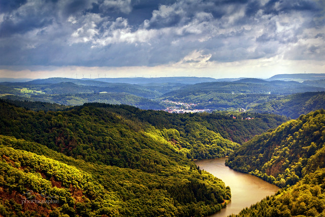 A river in Germany - the Saar