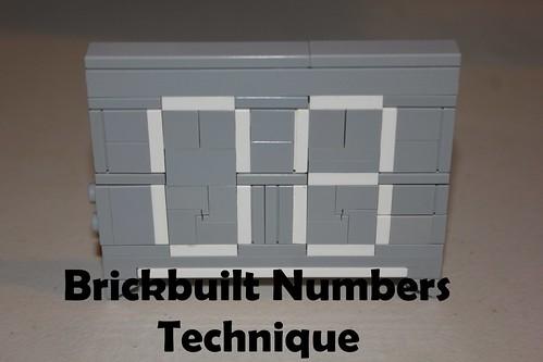 Brickbuilt Numbers Technique