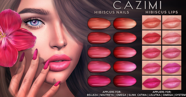 Hibiscus Lips & Nails @ Designer Showcase