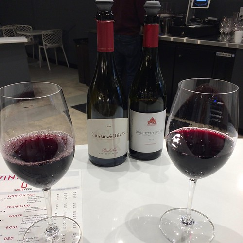 Pinot Noir by Champs de Rêves and Cantina del Pino, Dolcetto d'Alba