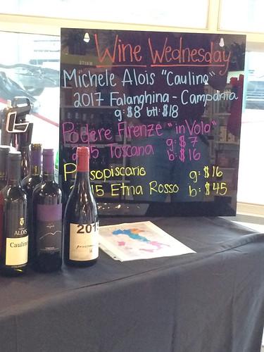 Italian themed #WineWednesday