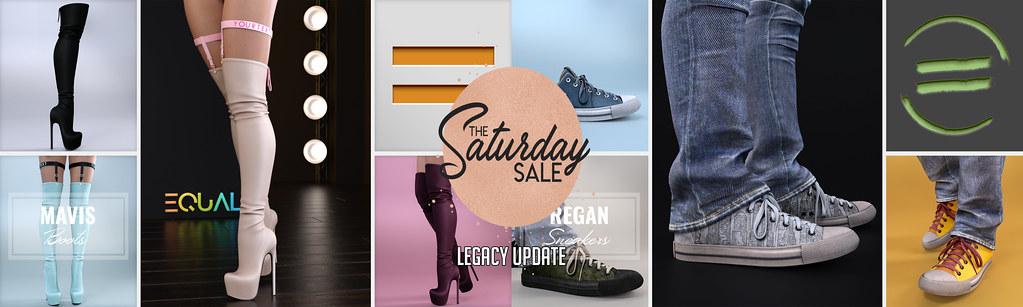 EQUAL - Mavis Boots and Regan Sneakers - TeleportHub.com Live!