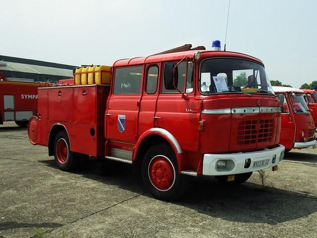 Pompiers Berliet GBK Melun-Villaroche (77 Seine et Marne) 09-06-18a