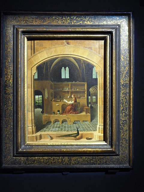 Antonello da Messina - San Girolamo nello studio